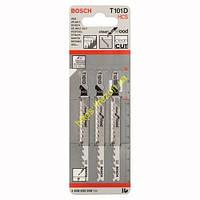 Набор пилочек по дереву T 101 D (3 шт), 2608630558, Bosch