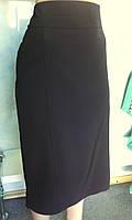 Женская юбка с имитацией карманов большого размера