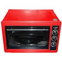 Духовка печь электрическая 33л ST 77-500-03 RED