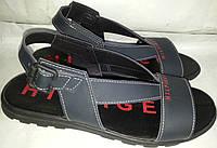 Сандалии мужские кожаные HILFIGE 001