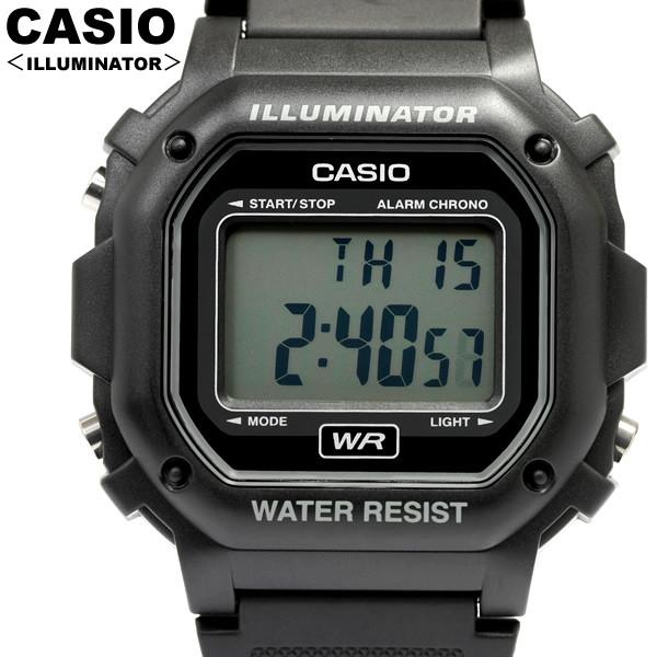 Часы Casio F-108WH-1