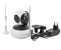 IP камера видеонаблюдения с охранной сигнализацией