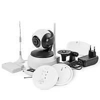 Система видеонаблюдения IP WiFi COLARIX SIMARA 007 в комплекте с датчиками