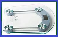 Весы напольные квадратные стеклянные 2003B до 180кг!Хит