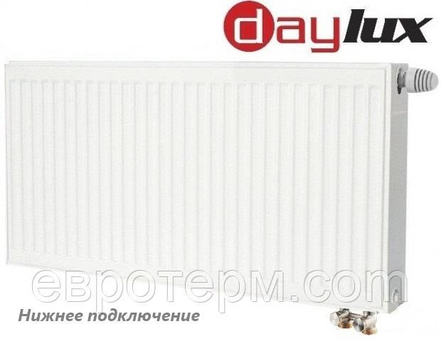 Стальной радиатор тип 33 300*700 с нижним подключением daylux