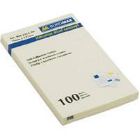 Стикеры BUROMAX 76*127 100л. 2314-99 ассорти