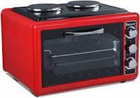 Духовка печь электрическая SATURN ST-EC1072 RED