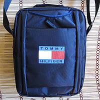 Сумка через плечо Барсетка спортивная ТOMMY HILFIGER премиум 26х20х9см