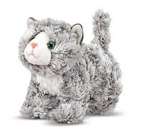 Мраморный котенок Рокси, 18 см, Melissa&Doug
