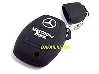 Силіконовий чохол для ключа Mercedes Benz 966, фото 1