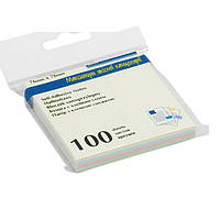 Стикеры BUROMAX 76*76 100л. 2312-10 паст., фото 1