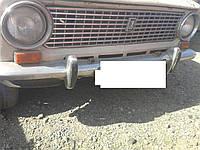 Бампер 2101 передний хорошее состояние ВАЗ 2102 2103 2104 2105 2106 2107