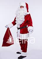 Костюм Санта Клауса Элит (без бороды и парика)