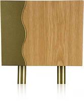 Трубный Гонг (GRS–941M) звонок дверной с двумя короткими латунными трубами pop (светлое дерево)