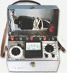 ВАФ85М1 - специализированный электроизмерительный аналоговый прибор для энергетики
