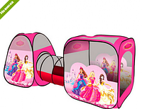 """Игровая палатка с туннелем M 2960 """"Принцессы Дисней"""""""