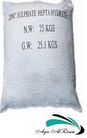 Сульфат цинка 1-водный (цинк сернокислый), мешок 25 кг