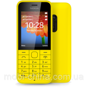 Копия Nokia 220 dual sim, Yellow, фото 2