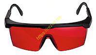 Очки для работы с лазером (красные) 1608M0005B