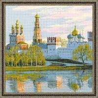Набор для вышивания крестом «Москва. Новодевичий монастырь» (1430)