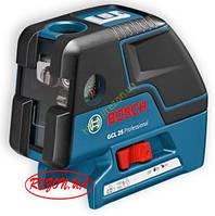 5-и точечный лазер с перекрёстными лучами Bosch GCL 25 (0601066B00)