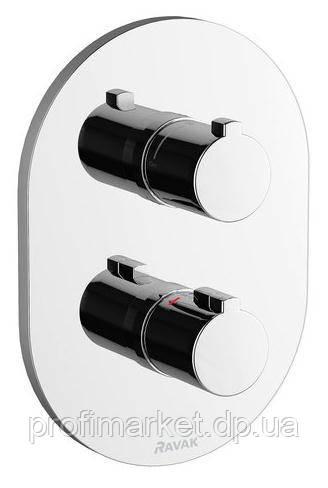 Термостатический смеситель для душа встроенный Ravak Chrome CR 064.00
