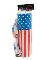 Боксерский набор средний Америка, груша, перчатки