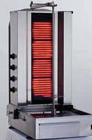 Гриль для шаурмы электрический 4 - контурный GGG KLG171