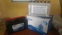 Аккумулятор для мотоцикла гелевый  EXIDE YT7B-BS  6,5Ah 150x65x93