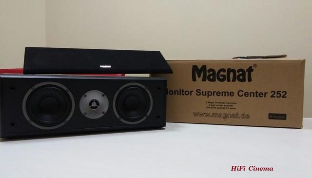 Magnat Monitor Supreme Center 252 Ash Black decor Center Channel HiFi Cinema