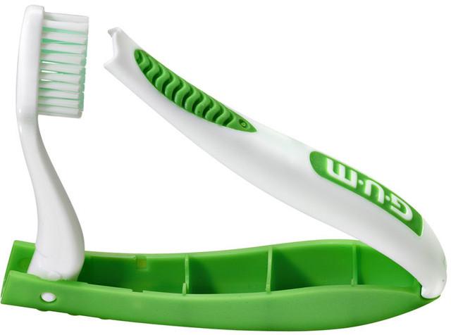 Зубная щетка GUM® Travel (мягкая, дорожная)