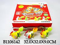 Заводная игрушка 898-12(4322) Петушок 12 в кор. 32*32*9см