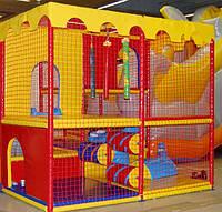 Заградительная сетка для детских лабиринтов-80х80 мм Ø4,5 мм, м²