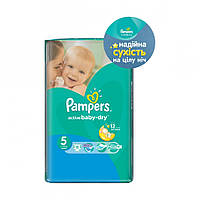 Pampers Active Baby-Dry Junior Микро 5, 11 шт
