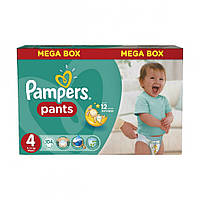 Pampers Pants Maxi Мега 4, 104 шт