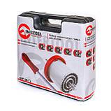 Набор корончатых сверл для плитки 5ед 33-83мм, вольфрамовое напыление + напильник и чемодан INTERTOOL SD-0428, фото 3