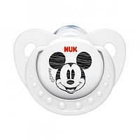 Пустышка NUK Trendline Disney Miki, 2 р. (силикон)