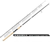 Спиннинг универсальный Kaida 103-732-240, карбоновый спиннинг, спиннинг для рыбалки 2,4 метра