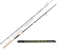 Спиннинг для рыбалки штекерный Kaida 101-240м, универсальный спиннинг 2,4 метра, спиннинг штекерный GODDESS