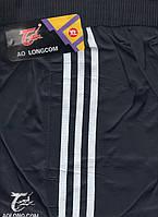 Штаны спортивные мужские AO Longcom, размеры XL-5XL, модель 0366, синие 001