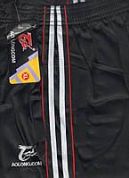 Штаны спортивные мужские AO Longcom, размеры XL-5XL, модель 0364, чёрные 001