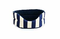 Лежак Comfy Marine XL 64x56x23см синий