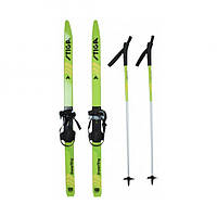 Детские лыжи Snow Fling 100 см, Green Stiga