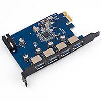 Контроллер ORICO PVU3-4P PCIe to USB 3.0