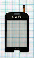 Тачскрин сенсорное стекло для Samsung GT-C3310 Champ Deluxe black