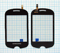 Тачскрин сенсорное стекло для Samsung GT-C3510 CorbyPOP black