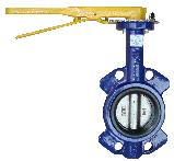 Регульована поворотна засувка Батерфляй з нержавіючим диском(EPDM) ДУ 65, фото 4