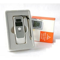 Карманный цифровой алкотестер с LCD и часами 6379 Alcohol Tester