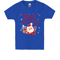 Детская футболка Счатливого Рождества