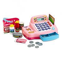 """Игровой набор """"Кассовый аппарат"""", (розовый) Keenway 30262"""
